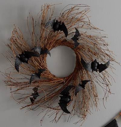 Halloween Bath Wreath