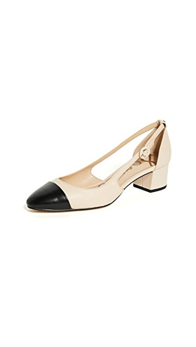 Leah Cap Toe Pumps