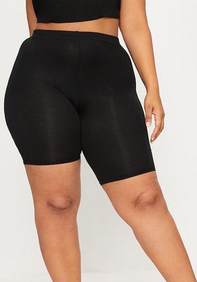 Black Basic Bike Shorts