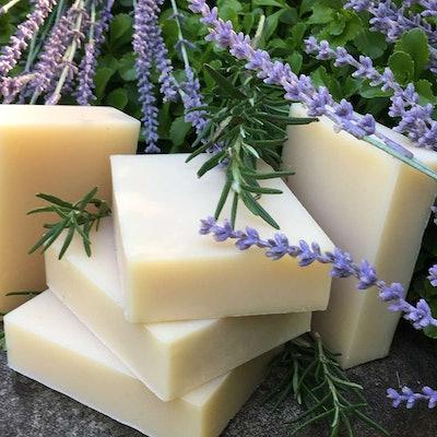 Soap & Salve Rosemary Lavender Shampoo Bar