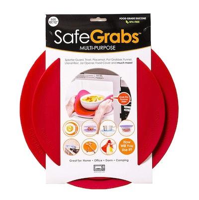 Safe Grabs Silicone Trivet (2-Pack)