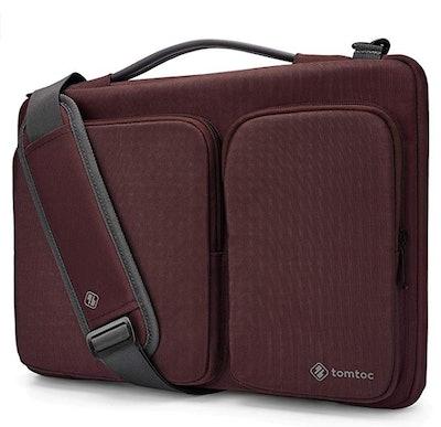 tomtoc Protective Laptop Shoulder Bag