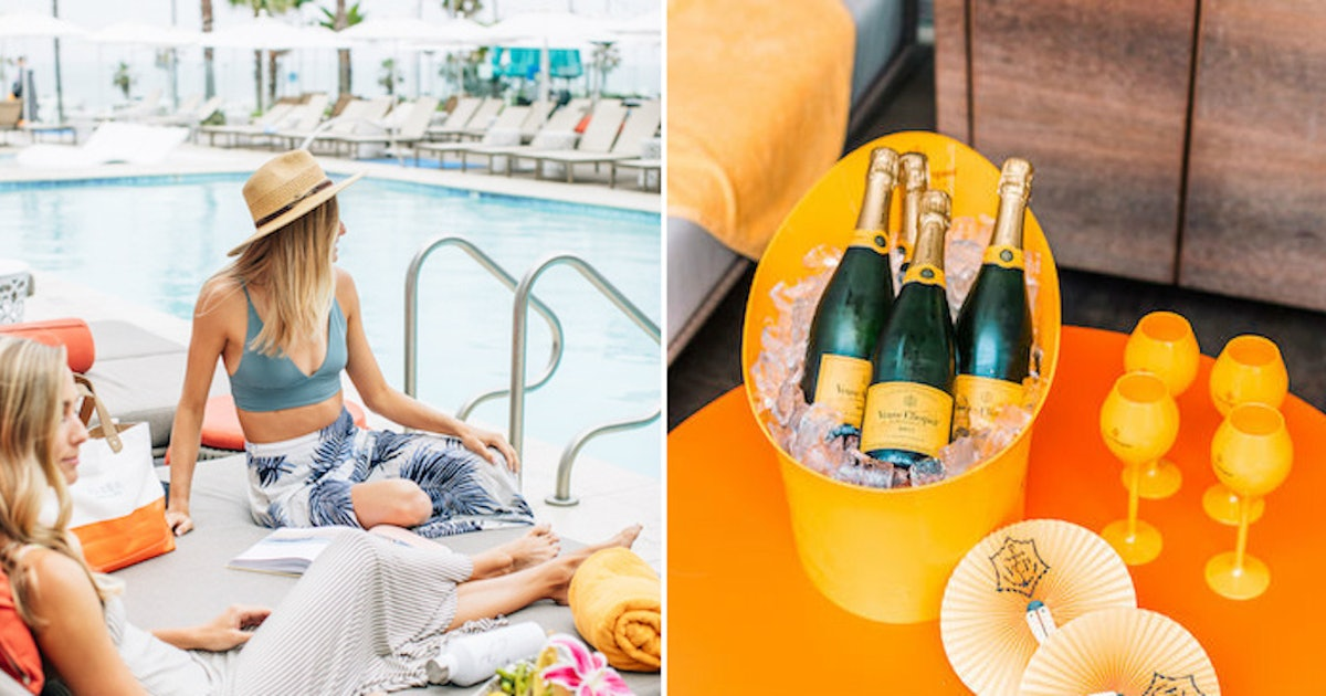 "This ""Clicquot On The Coast"" Weekend Experience Is The Best Way To End Summer"