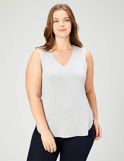 Daily Ritual Women's Plus Size Jersey V-Neck Tank Top