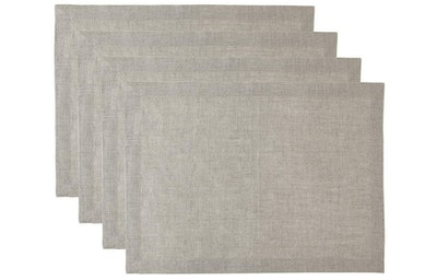 Solino Home Pure Linen Placemats (Set Of 4)