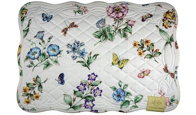 Lenox Butterfly Meadow Quilt Placemats (Set Of 4)
