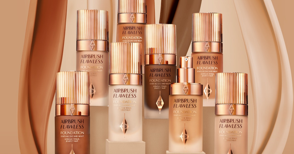 Charlotte Tilbury's New Airbrush Flawless Foundation Has More Than 17,000 People Waiting For It — & It Launches Soon
