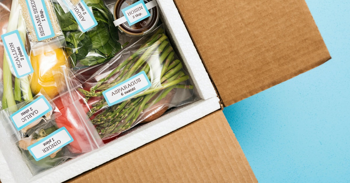 How meal subscriptions boxes shifted dinner culture