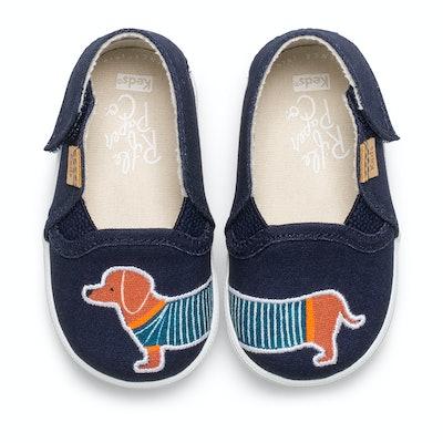 Infant Double Decker Slip-On Dachshund