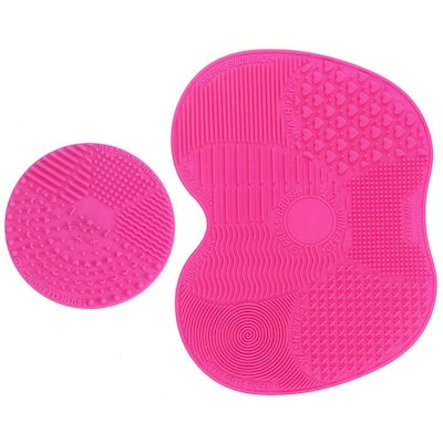 Esarora Direct Makeup Brush Cleaning Mat (2-Piece Set)
