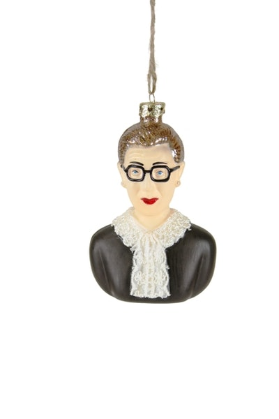 Supreme Justice Ruth Bader Ginsburg Ornament