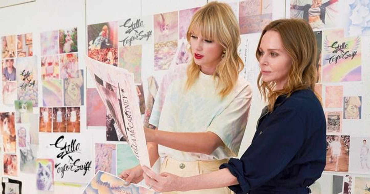 Where To Buy Taylor Swift's Stella McCartney Collection In The UK, Because This Merch Looks Mega