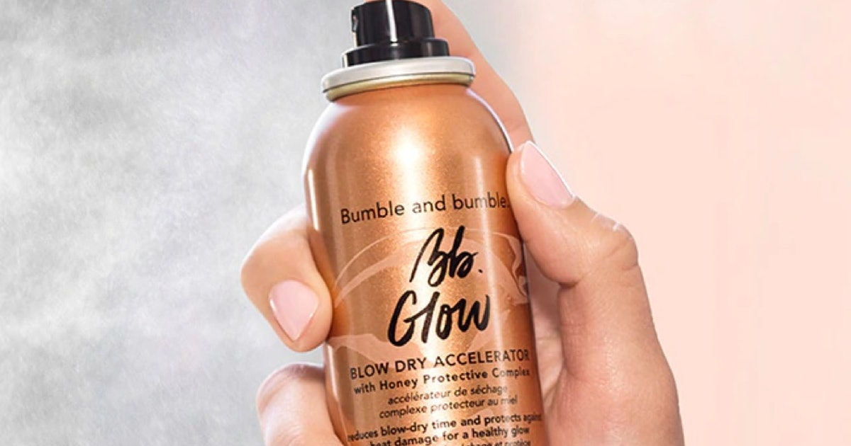 Bumble And Bumble's New Glow Collection Is The Styling Trio Your Haircare Routine Has Been Missing