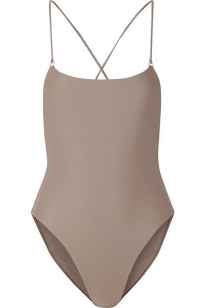 Jade Swim Tether Swimsuit