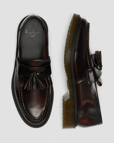 Adrian Cherry Red Arcadia Loafers