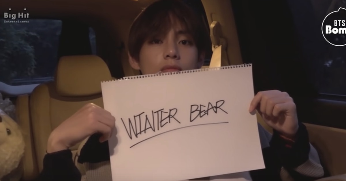 "This Video Of BTS' V Shooting The ""Winter Bear"" Cover Is So, So Serene"