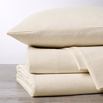 Cloud Brushed Organic Flannel Sheets