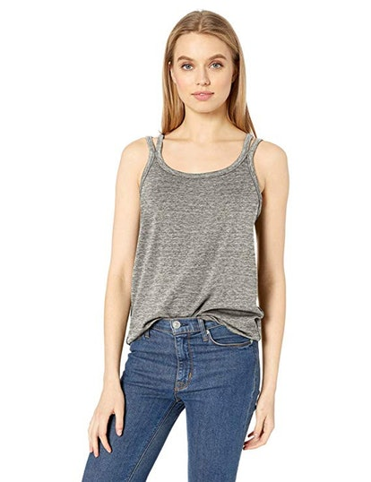 Daily Ritual Women's Supersoft Terry Double-Strap Tank