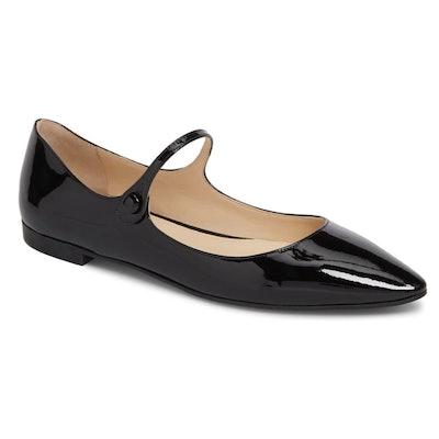 Pointy Toe Mary Jane Flat