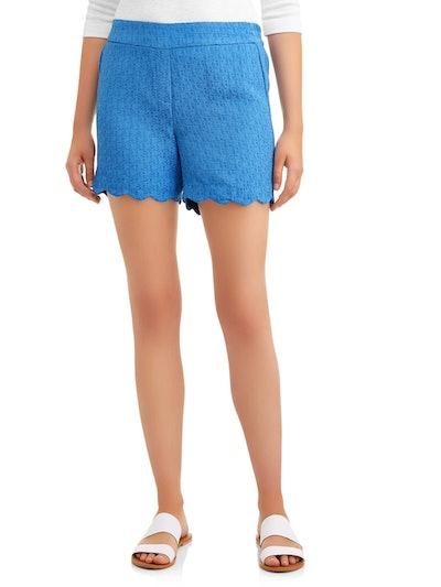 Lifestyle Attitudes Women's Scallop Millennium Shorts