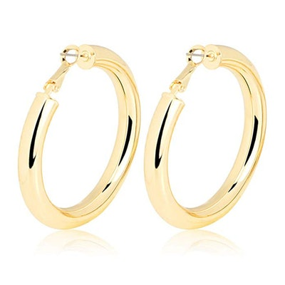 Me & Hz Fashion Gold Silver Hoop Earrings
