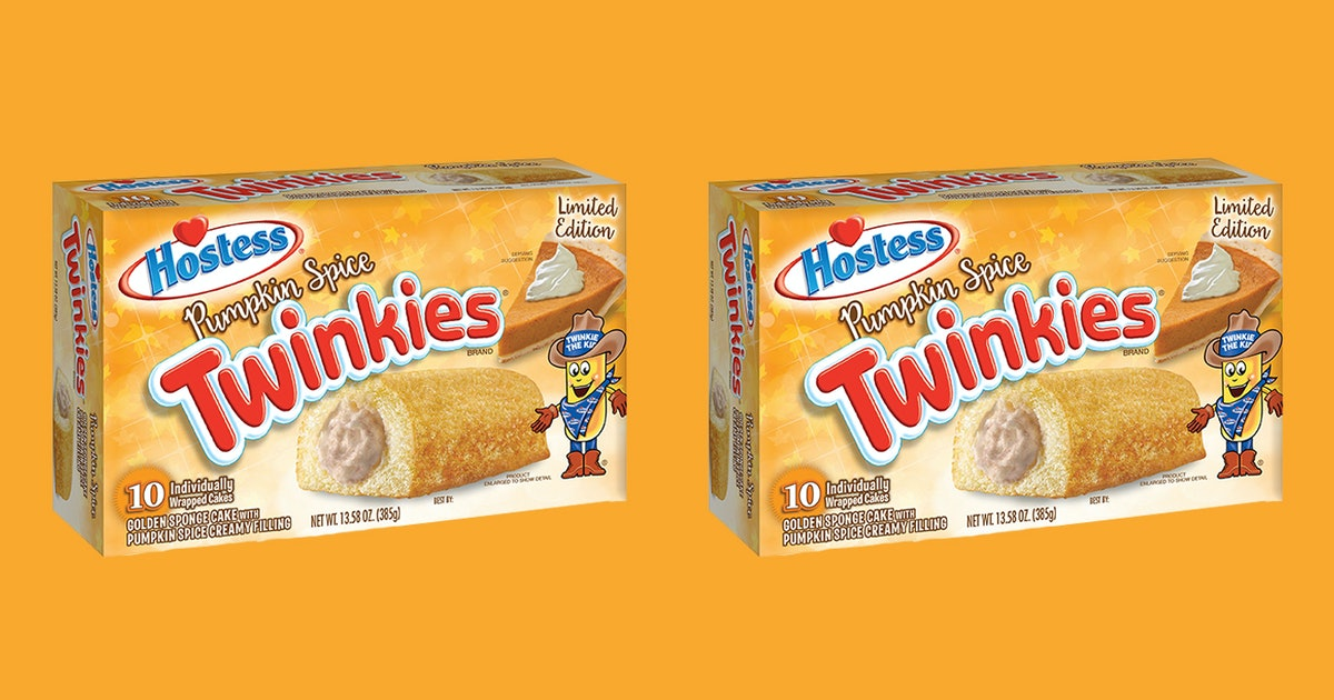 Pumpkin Spice Twinkies Are Back For 2019, This Is Not A Drill