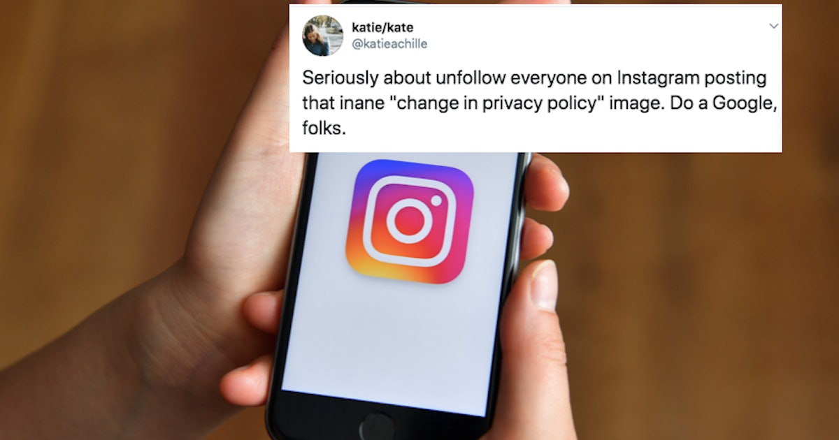 """These Tweets About The """"New"""" Instagram Privacy Policy Are All Asking This 1 Question"""