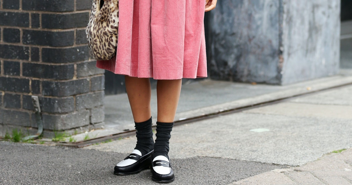 How To Wear Loafers With Socks This Fall