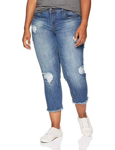 dollhouse Women's Size Clooney Plus Denim
