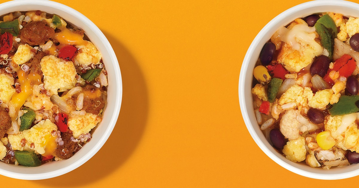 Dunkin's New Burrito Bowls Will Add Some Spice To Your Next Coffee Run