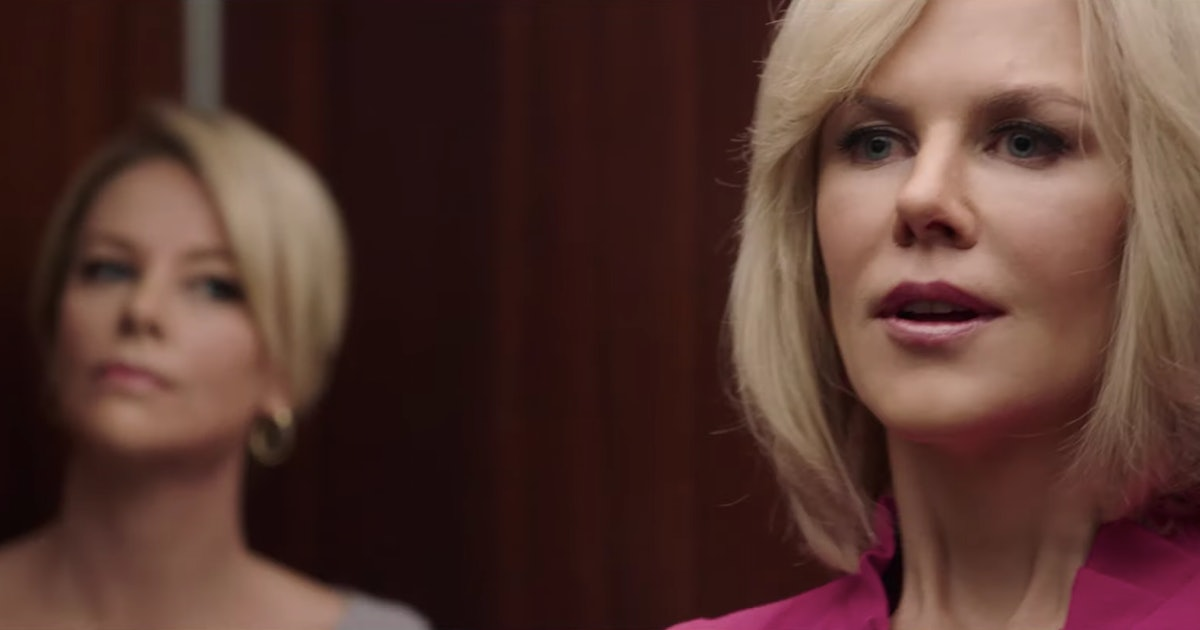 The 'Bombshell' Trailer Features Charlize Theron & Nicole Kidman As The Women Who Took Down Roger Ailes