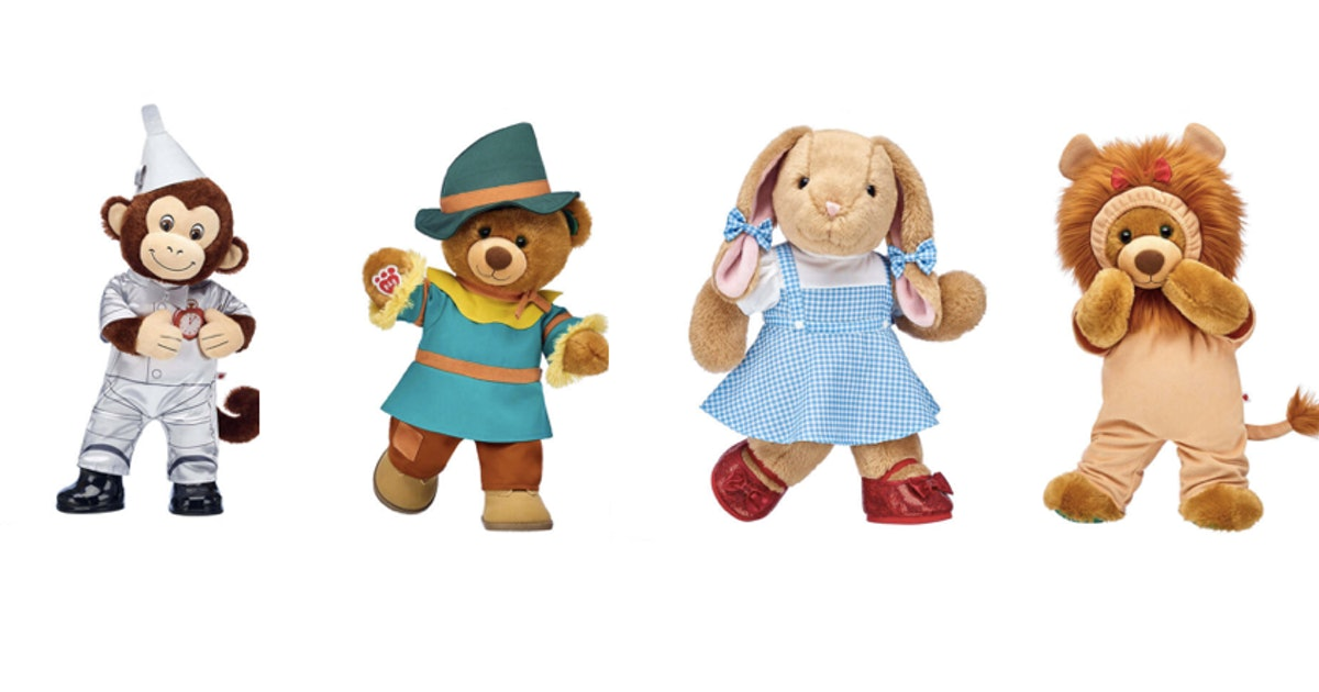 'Wizard Of Oz' Build-A-Bear Is The Most Magical Collection