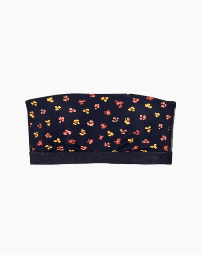 Madewell x Lively™ Bandeau Strapless Bra in Feline Floral