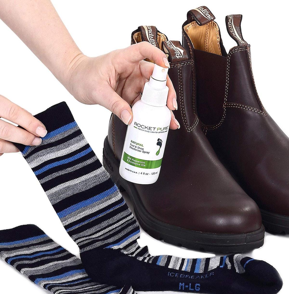 Rocket Pure Natural Mint Shoe Deodorizer