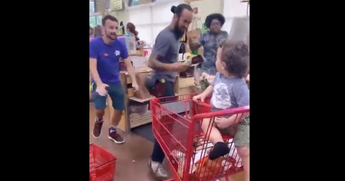 Video Of Trader Joe's Employees Helping A Toddler Having A Tantrum Is Better Than Cookie Butter