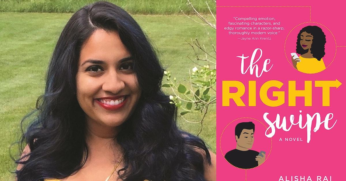 Alisha Rai Wanted To Create Her Dream Dating App, So She Wrote 'The Right Swipe'