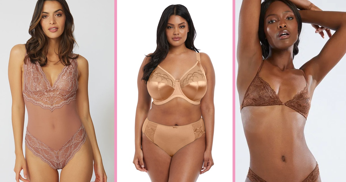 Nude Underwear That's Cute, Inclusive, & Easily Available To Buy In The UK