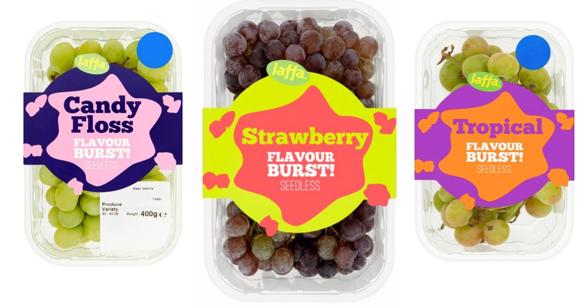 Tesco Is Selling Candy-Floss Flavoured Grapes & The Future Is Here, People