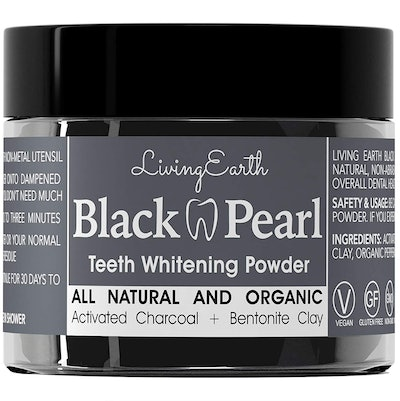 One Living Earth Charcoal Teeth Whitening Toothpaste