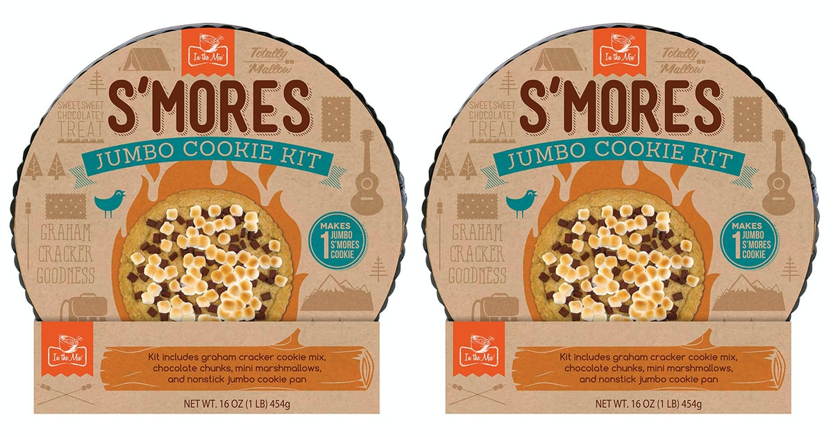 Aldi's Giant S'mores Cookie Kit Will Feed 16 People
