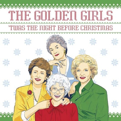 'The Golden Girls Twas The Night Before Christmas' Book
