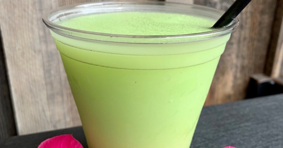 Disney's New Friezling With Dole Whip Lime Is A Boozy Take On Your Fave Theme Park Treat