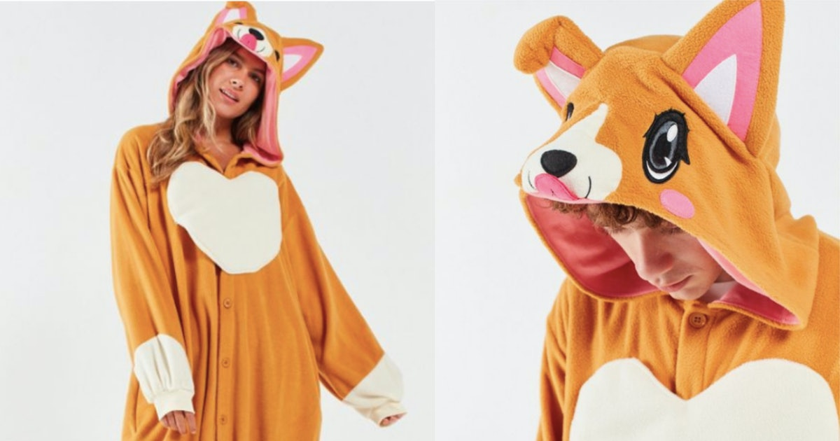 This Corgi Halloween Costume At Urban Outfitters Is The Coziest Mood