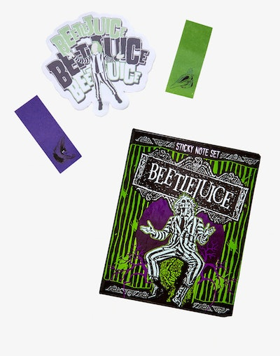BEETLEJUICE STICKY NOTE SET