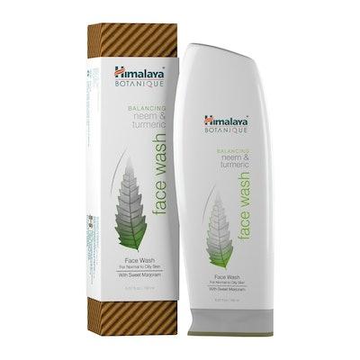 Himalaya Botanique Neem & Turmeric Natural Face Wash & Cleanser