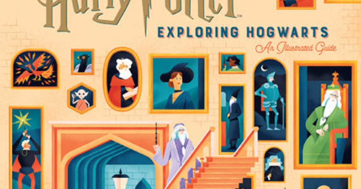 'Harry Potter: Exploring Hogwarts' Is The Ultimate Illustrated Guide For All Harry Potter Fans