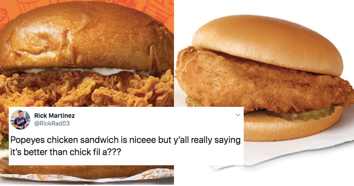 These Popeyes Vs. Chick-Fil-A Memes Keep The Chicken Sandwich Rivalry Going