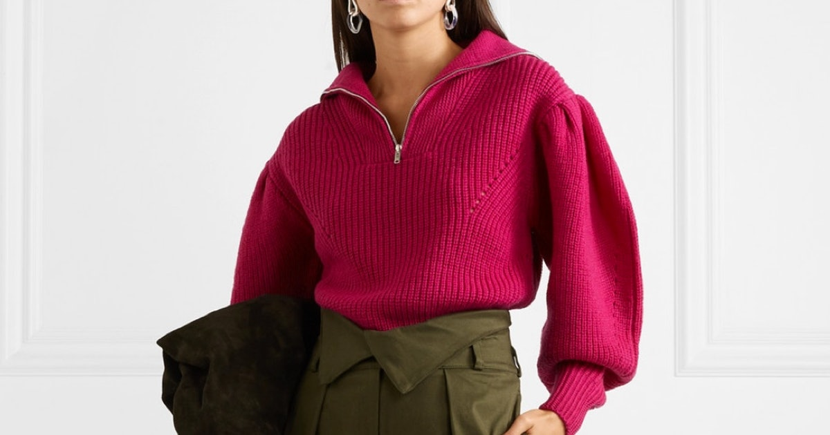 5 Fall Trends At Net-A-Porter To Try, Including Statement Sweaters & Oversized Bags