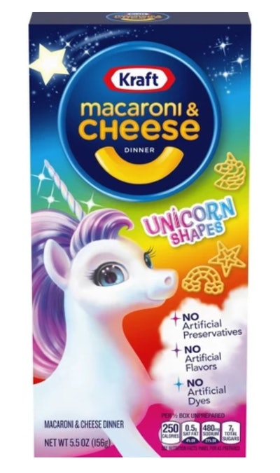 Kraft Unicorn Shapes Macaroni & Cheese