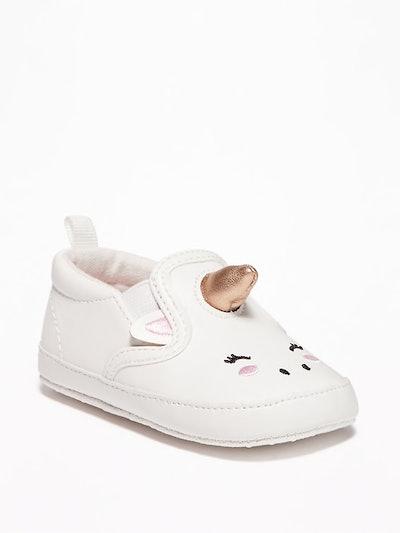 Unicorn Slip-Ons for Baby